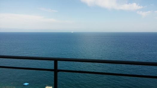 Ausblick vom Hotelzimmer
