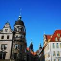 Schloßstraße - Im Hintergrund der Turm der Kathedrale
