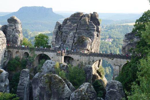Elbsandsteingebirge - Basteibrücke
