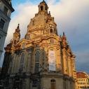 Abendstimmung an der Frauenkirche