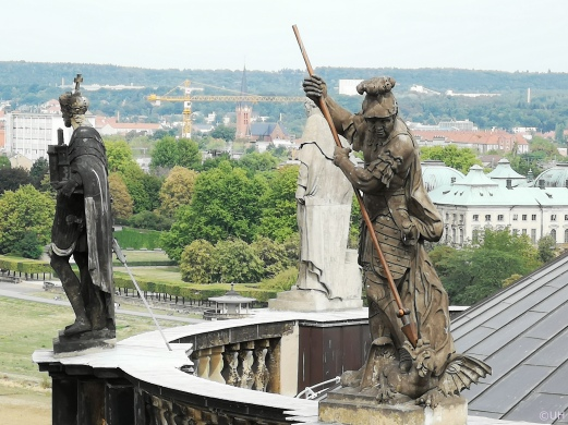 Kathedrale - Mattielli-Figuren