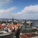Panoramaaufnahme von der Kuppel der Frauenkirche