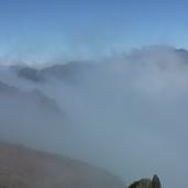 Pico do Areeiro - In den Wolken